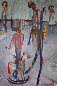 Hopeful Dreamers, Painting, Oil on Canvas