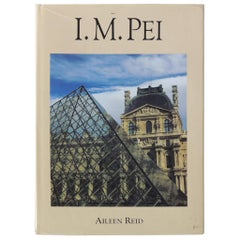 I.M. Pei by Aileen Reid Hardcover Coffee Table Book