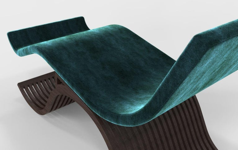 Modern Iman Chaise by Miminat Designs For Sale