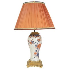 Imari China Porcelain Table Lamp