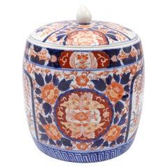 Imari Covered Jar Extremely Large