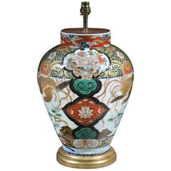 Imari Early 18th Century Table Lamp