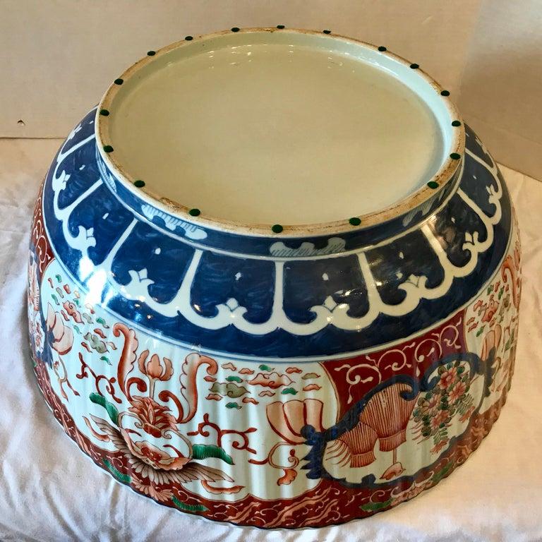 Imari Punch Bowl For Sale 6