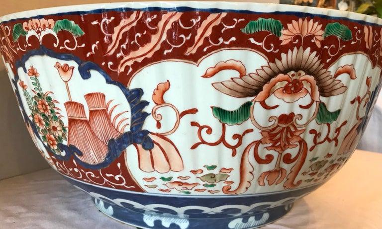 Imari Punch Bowl For Sale 3