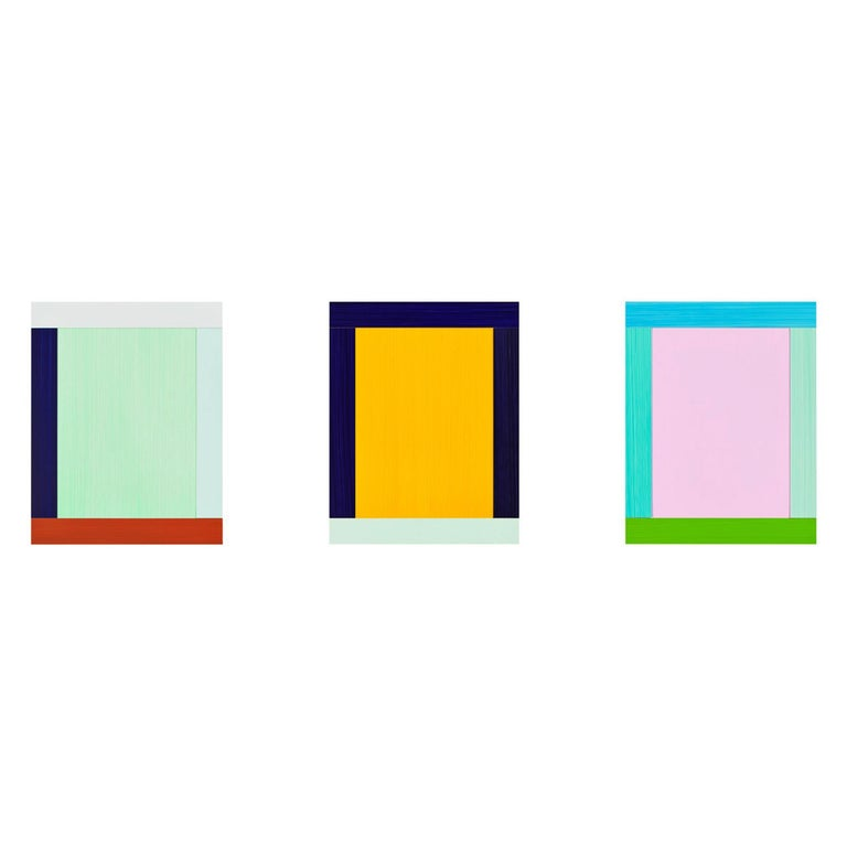 Anima Mundi 3-6, Suite of 3, Collage, Minimalism, Geometric Art, Abstract on six flags over georgia park map 2013, kennywood park map 2013, holiday world park map 2013,