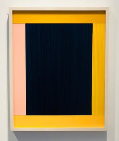 Anima Mundi, 2014-4 Ed, Acrylic, plastic foil, bright colors, stripes, abstract