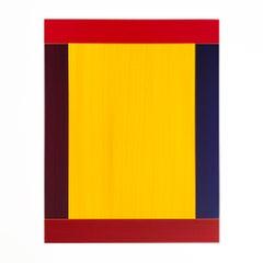 Anima Mundi, Collage, Acrylic on Synthetic Paper, Minimalism, Abstract Art