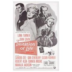 'Imitation of Life' 1959 U.S. One Sheet Film Poster