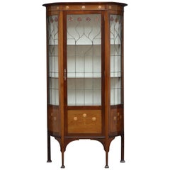 Immaculate Art Nouveau Display Cabinet