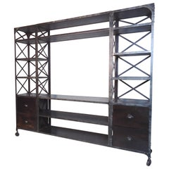 Immense Industrial Wall Unit