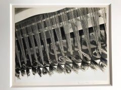 Weaving, Mills College Vintage Unique Photograph Signed Silver Gelatin Photo