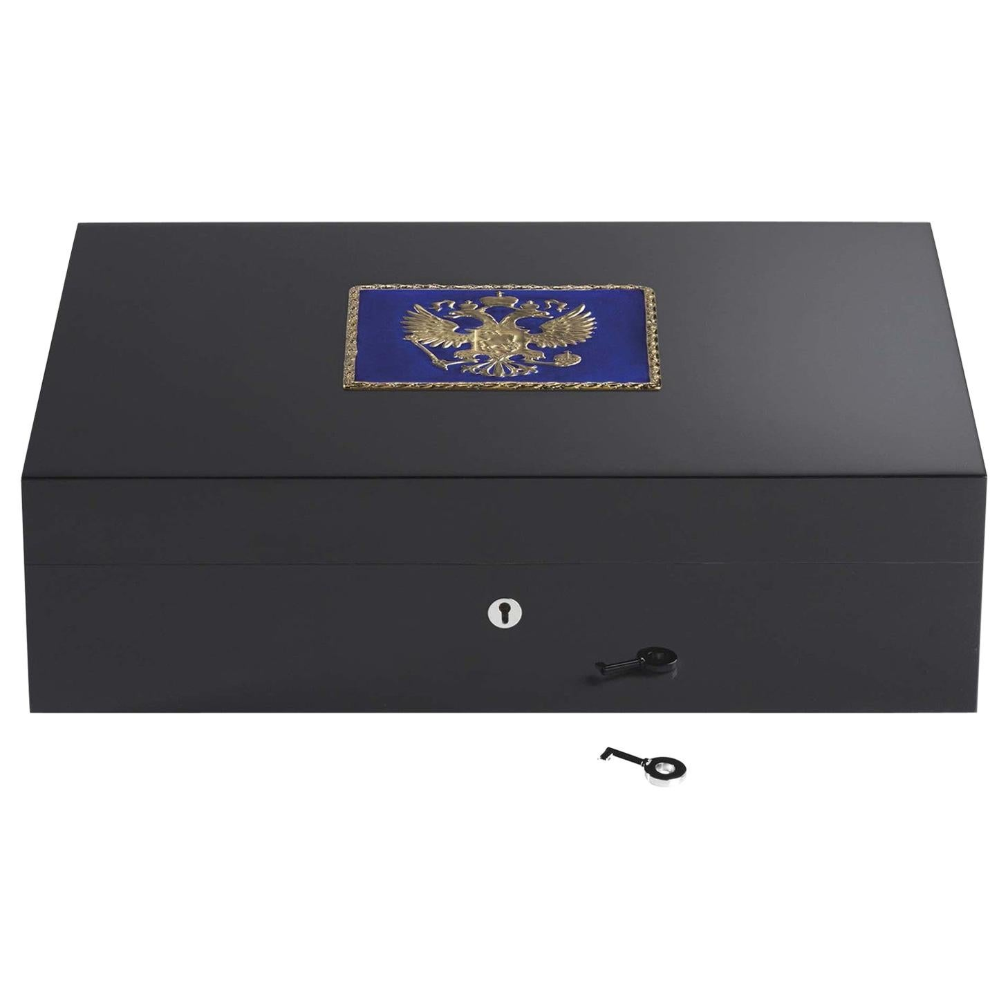 Imperial Blue Eagle Humidor for 110 Cigars