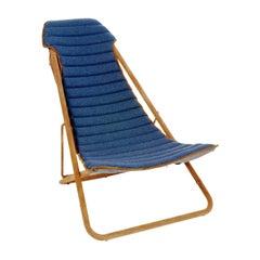 Imperial Cashmere Blue Deckchair