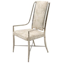 Imperial Dining Room Chair by Weiman / Warren Lloyd for Mastercraft in Chrome