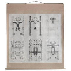Imperial Hotel Plans by Frank Lloyd Wright