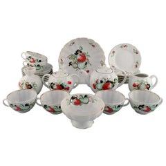 Imperial Lomonosov Porcelain Factory, Soviet Union, Large Tea Service