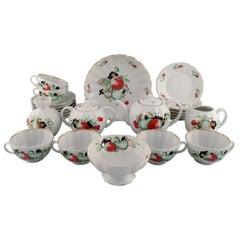 Imperial Lomonosov Porcelain Factory, Soviet Unionm Large Tea Service