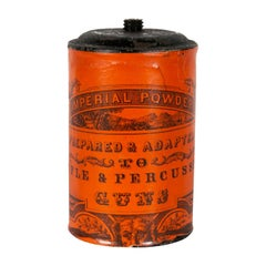 """Imperial Powder"" Gunpowder Tin"