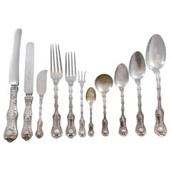 Imperial Queen by Whiting Sterling Silver Flatware 12 Set Service 189 Pcs Dinner