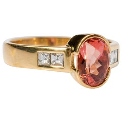 Imperial Topaz Ring from Brazil