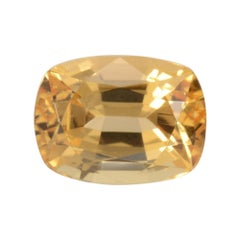 Imperial Topaz Ring Gem 3.52 Carat Loose Gemstone