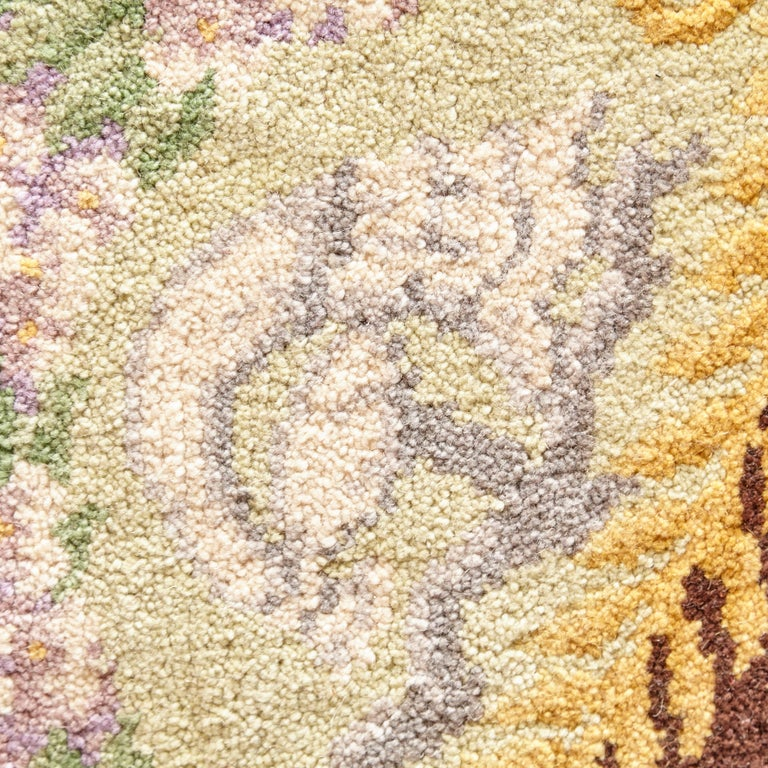 Imperio rug made in Spain, circa 1970.  Hand knotted wool antique reproduction   Measures: 300 x 400 cm.