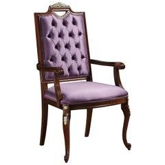 Impero Armchair Purple