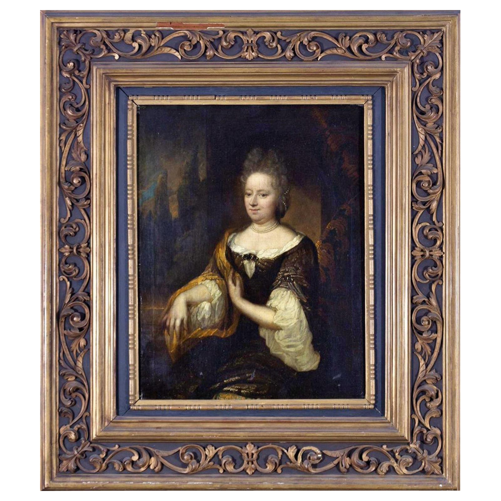 "Important 17th Century Dutch School "" Lady portrait """