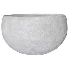Important 1970s White Bowl