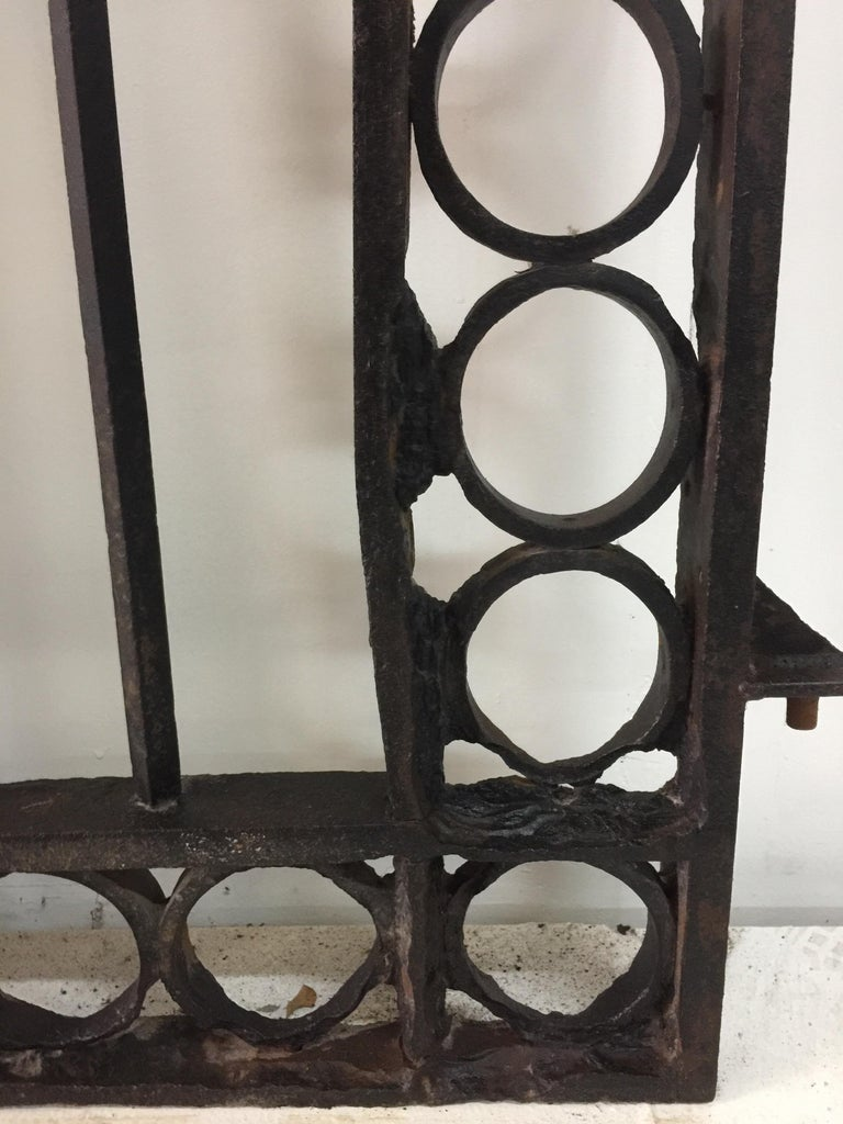 Important 19th Century French Iron Entrance Gates For Sale 6