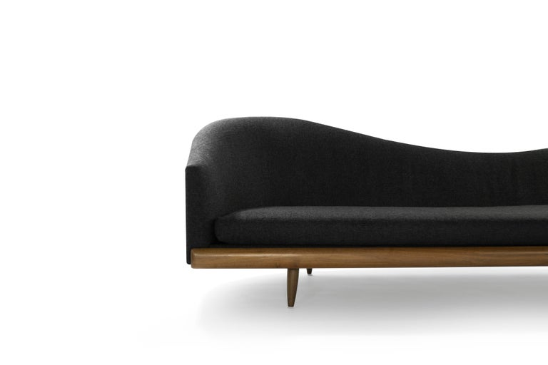Twill Important Adrian Pearsall Oasis Sofa, circa 1950s For Sale