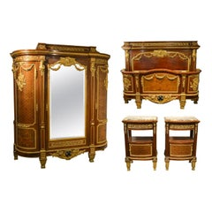 Important and Fine Louis XVI Bedroom Suite