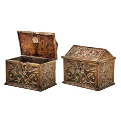 Important and Rare Spanish Safe Box 15th Century