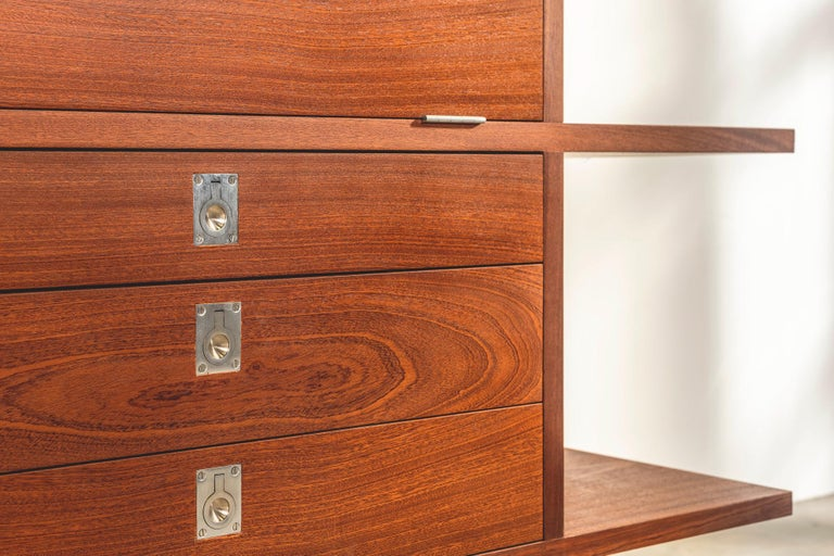 Important and Unique Mahogany Cabinet by Lord Snowdon and Sir Terence Conran For Sale 1