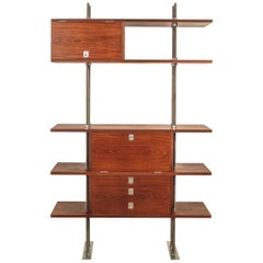 Important and Unique Mahogany Cabinet by Lord Snowdon and Sir Terence Conran