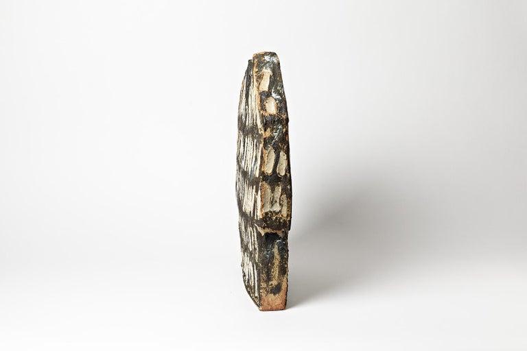 Important Architectural Ceramic Sculpture by F Marechal La Borne French Sculptor For Sale 3