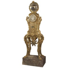 Important Astronomical Regulator Clock Attributed to François Linke, circa 1900