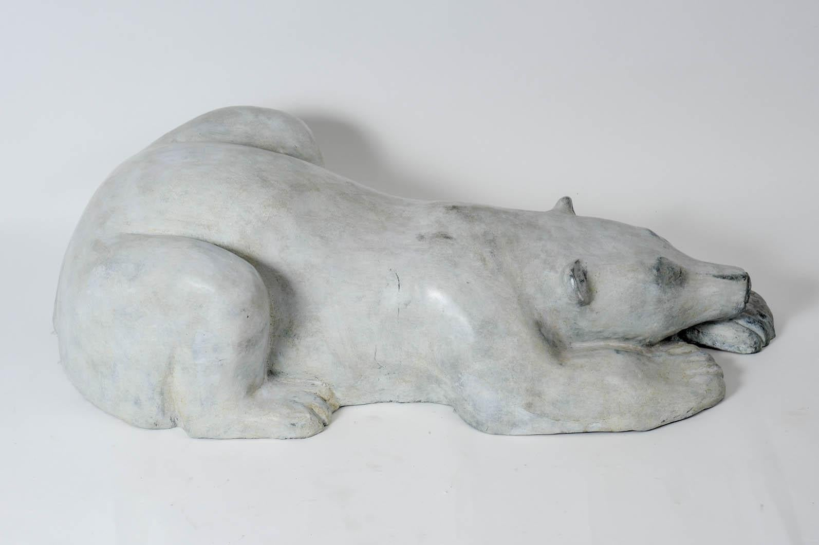 240d15a81c4 Important Bronze Polar Bear in the Style of François Pompon For Sale at  1stdibs