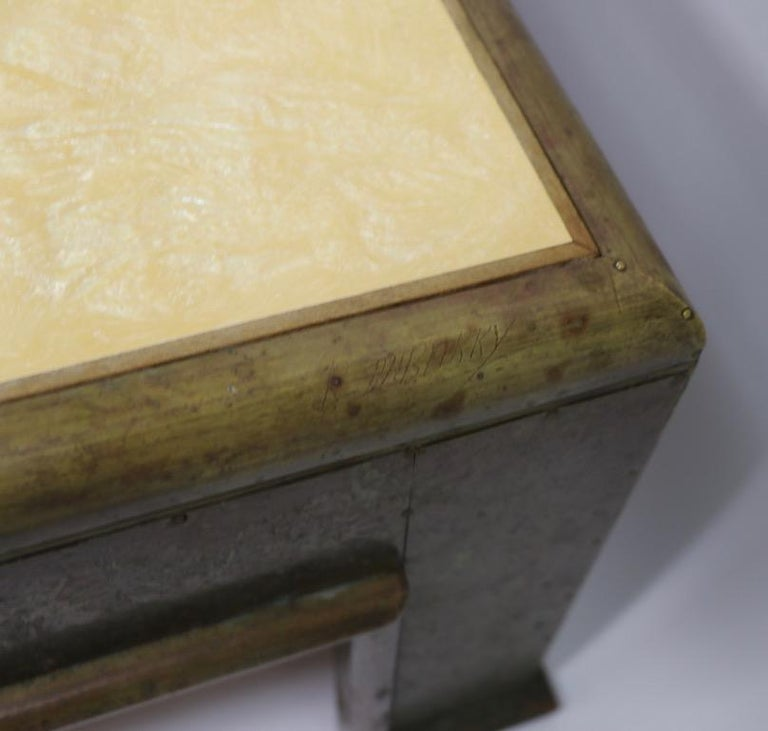 Important Brutalist Coffee Table by Rodolfo Dubarry For Sale 4