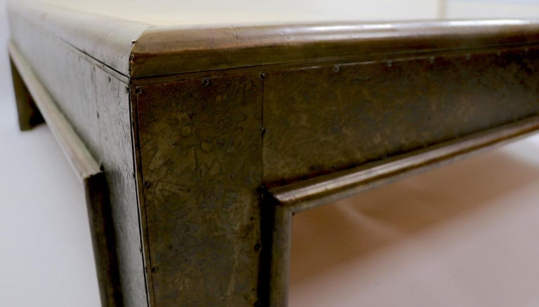 Important Brutalist Coffee Table by Rodolfo Dubarry For Sale 10