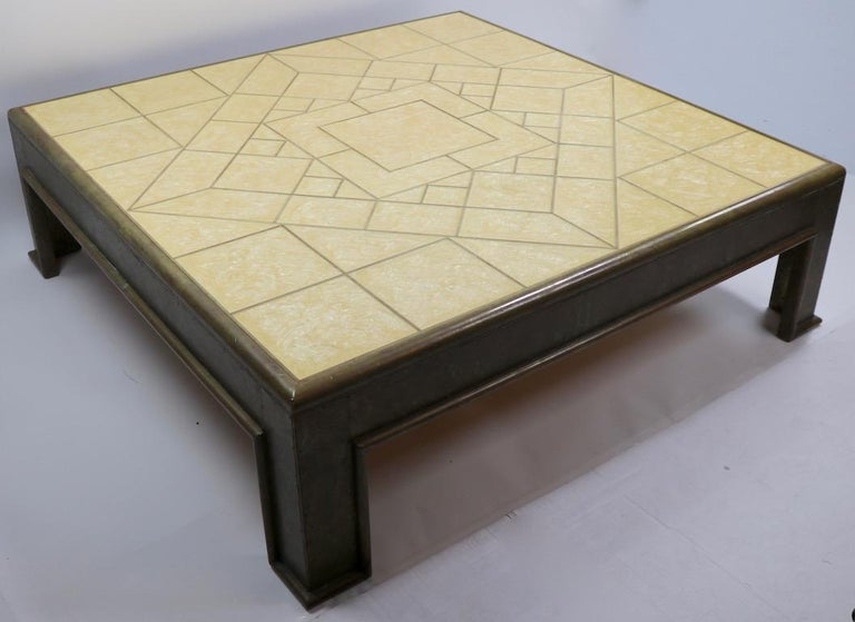 Important Brutalist Coffee Table by Rodolfo Dubarry For Sale 13