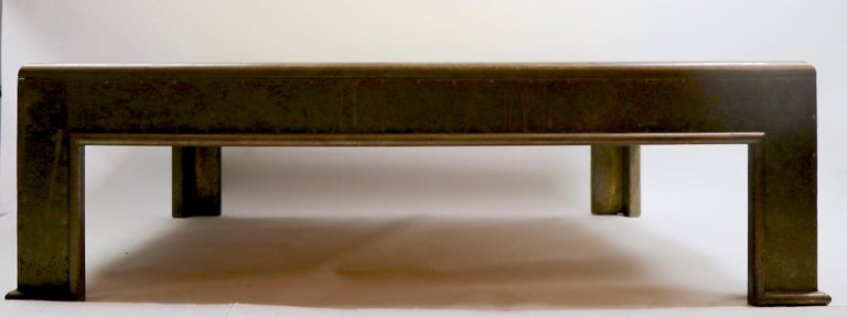 Important Brutalist Coffee Table by Rodolfo Dubarry For Sale 14