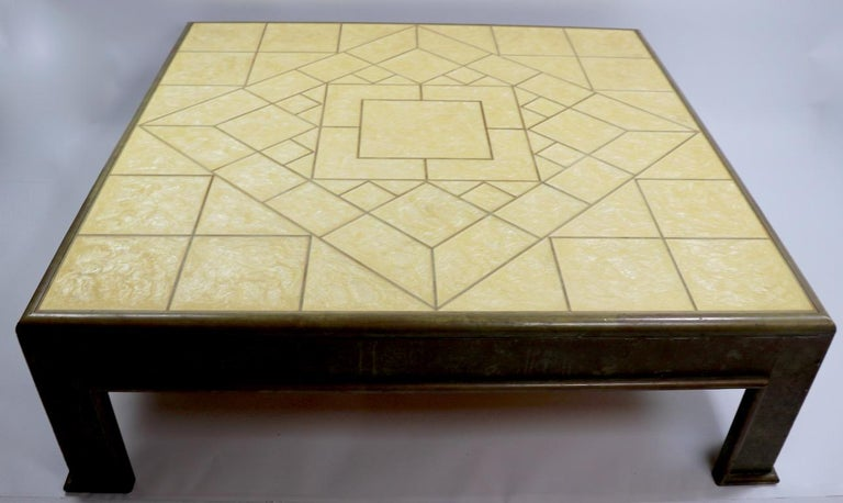 Spanish Important Brutalist Coffee Table by Rodolfo Dubarry For Sale