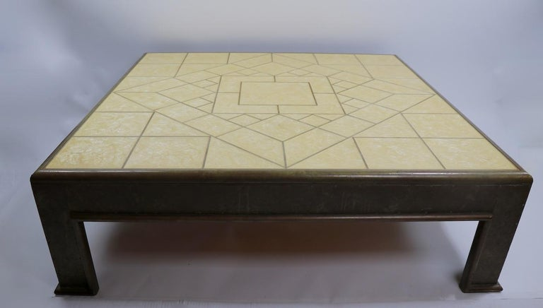 Important Brutalist Coffee Table by Rodolfo Dubarry In Good Condition For Sale In New York, NY