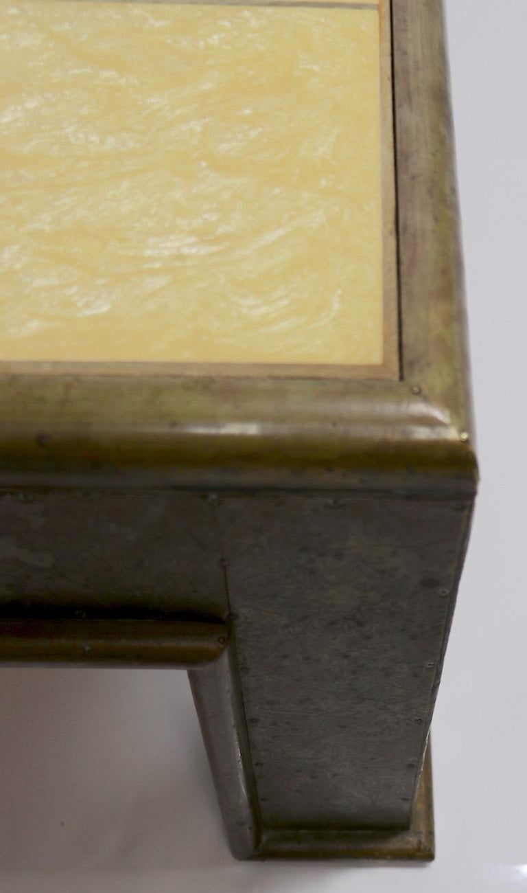 Important Brutalist Coffee Table by Rodolfo Dubarry For Sale 2