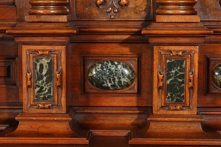 French Important Cabinet with the 'Four Seasons' by Lerolle For Sale