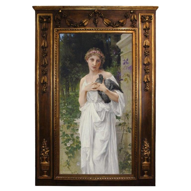 Important Carlos Pellicer y Rouvière Oil Painting For Sale