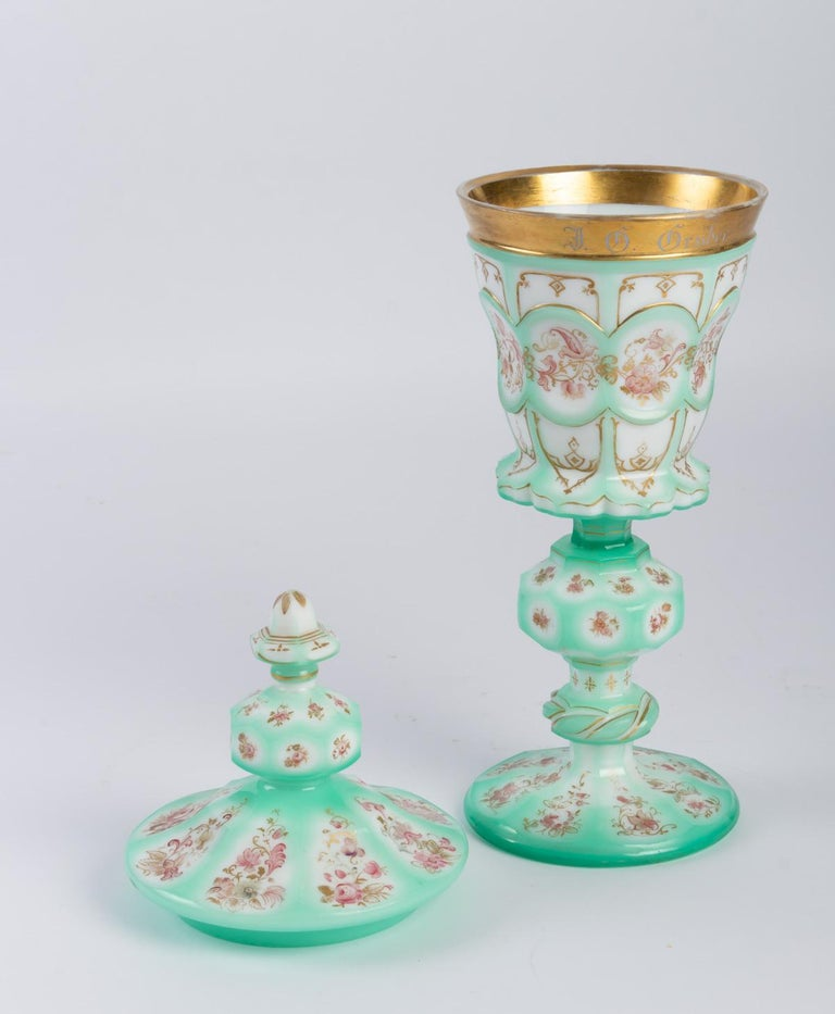 Mid-19th Century Important Charles X Goblet For Sale