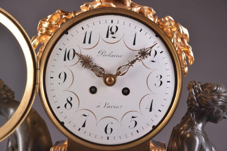 Gilt Important Clock