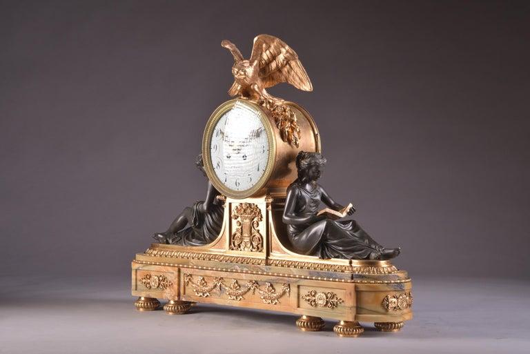 Bronze Important Clock